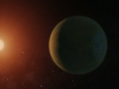7 Earth-Size Worlds Found Orbiting Star