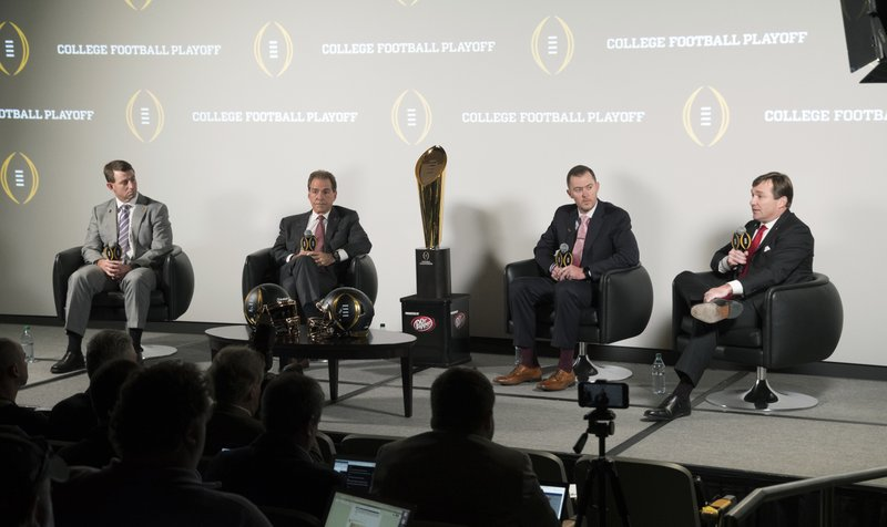 Lincoln Riley, Kirby Smart, Nick Saban, Dabo Swinney