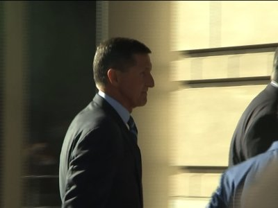 Ex-Nat. Security Adviser Flynn Arrives at Court