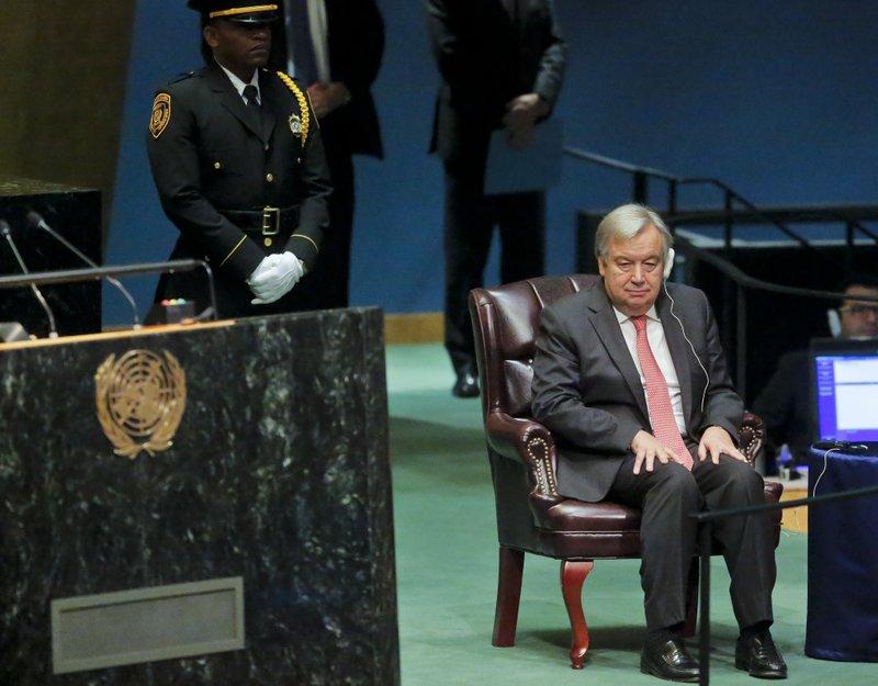 Peace is top priority for next UN chief Antonio Guterres