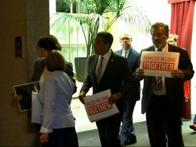 Dems, GOP Clash Around Immigration Meeting