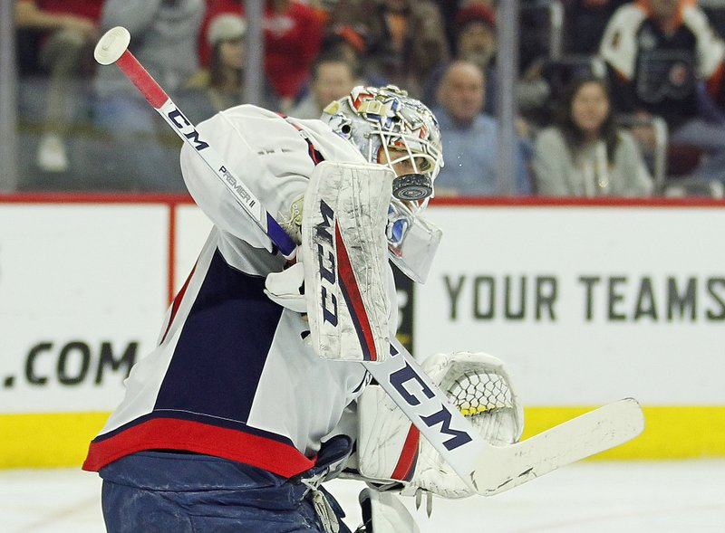 Holtby Gets 250th Win Capitals Beat Flyers 5 3