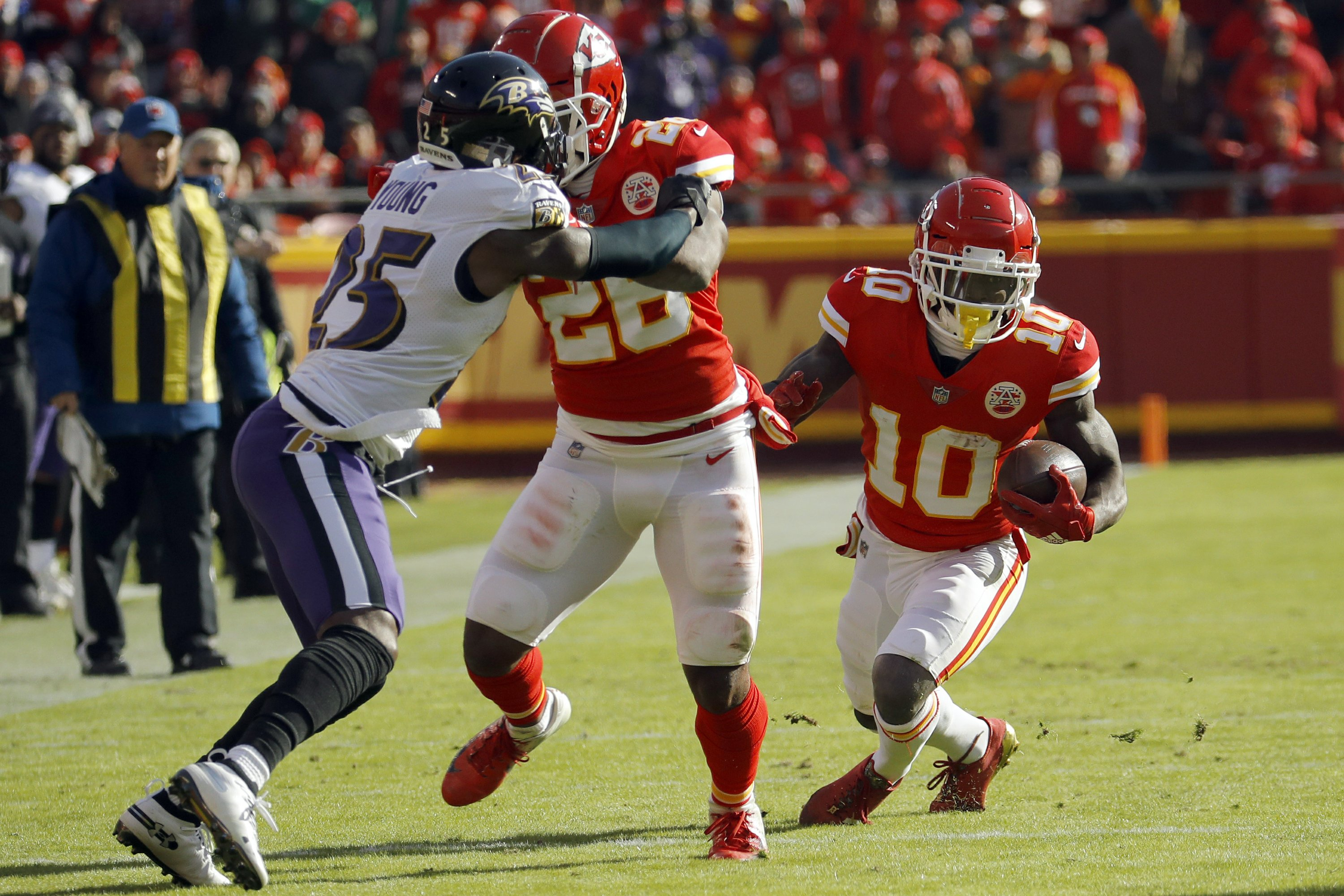 Chiefs' Tyreek Hill shows he is more than just speed