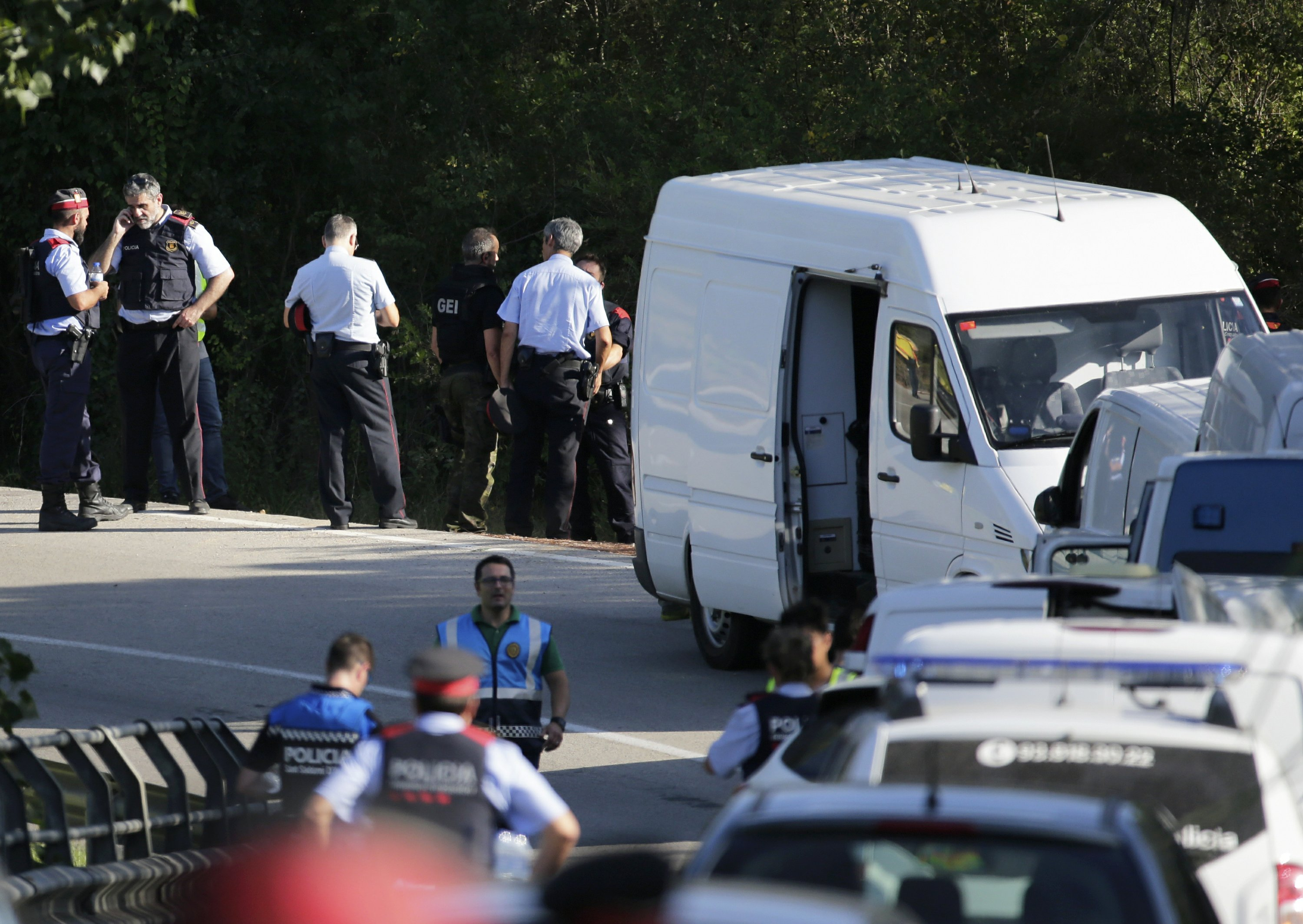 Police: Fugitive's death 'breaks' cell behind Spain attacks