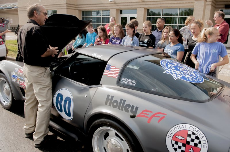 Revved-up cars get students 'on track' for STEM careers
