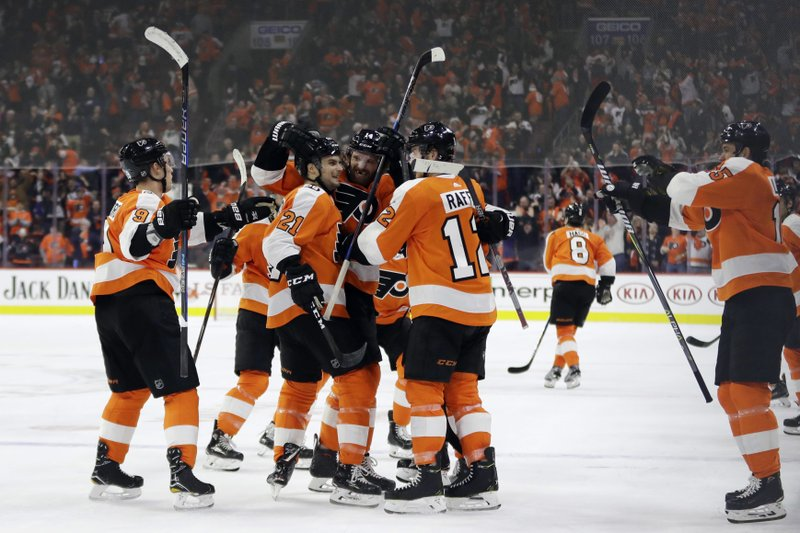 a95ac134465 Couturier's goal lifts Flyers over Leafs on Lindros' night