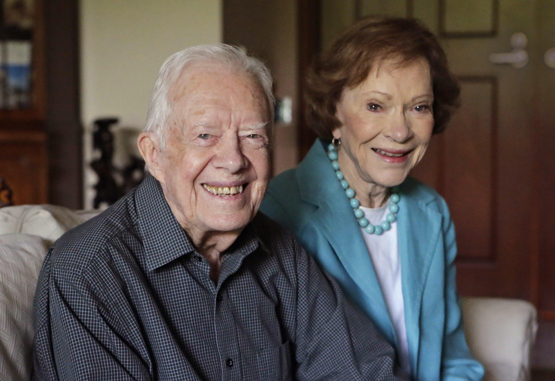 Jimmy Rosalynn Carter Mark 70 Years Even Closer Together