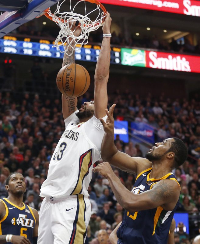 Anthony Davis, Derrick Favors