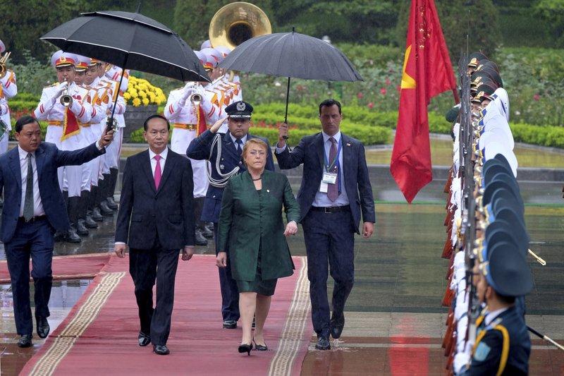 Michelle Bachelet, Tran Dai Quang