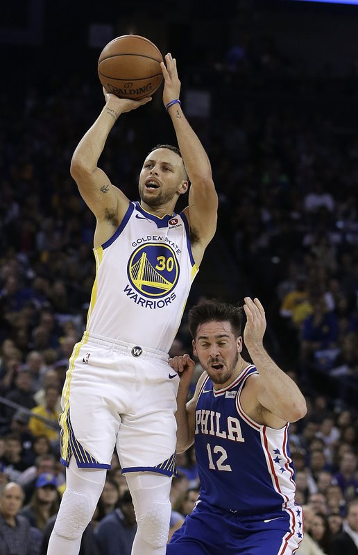 Stephen Curry, T.J. McConnell