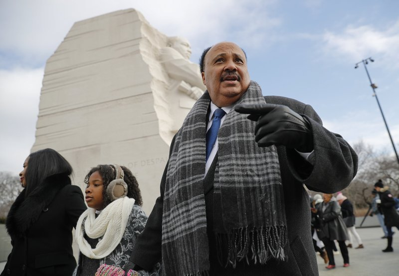 Martin Luther King III, Arndrea Waters, Yolanda Renee King