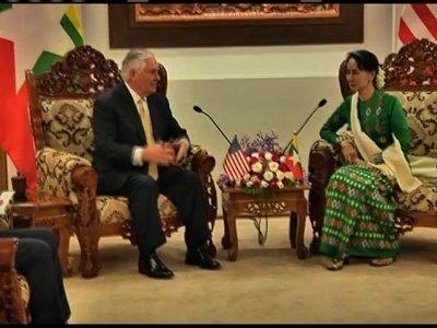 Tillerson Pledges $47M for Myanmar Refugees