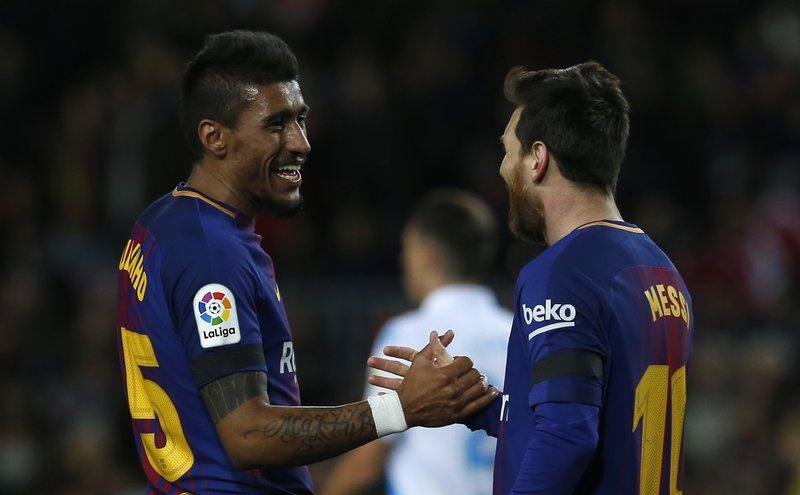 Paulinho, Lionel Messi