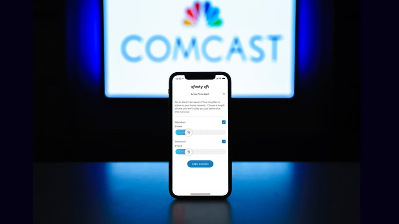 CORRECTING and REPLACING Comcast Launches New WiFi Parental Controls Feature