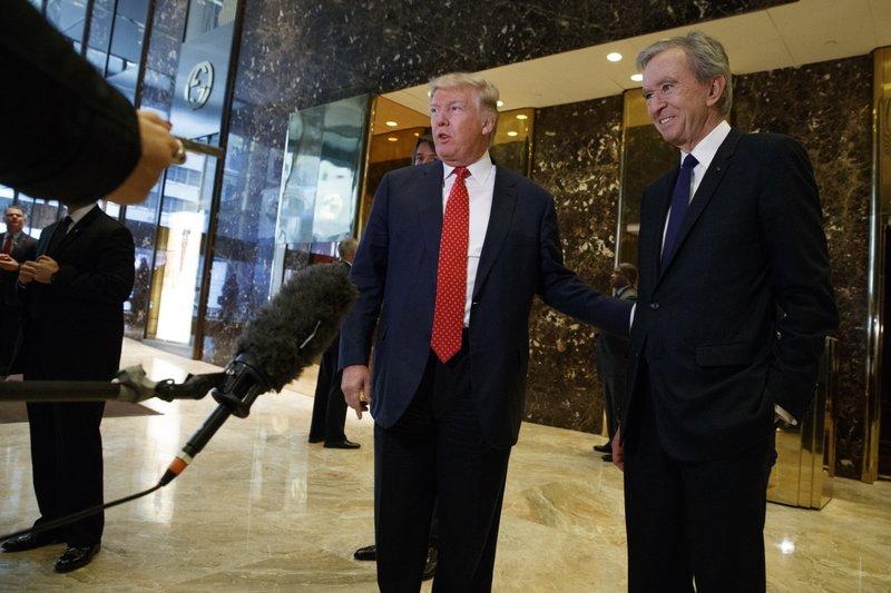 Donald Trump, Bernard Arnault