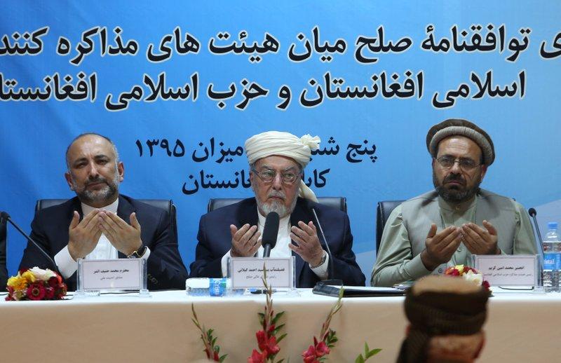Amin Karim, Ahmad Gilani, Mohammad Hanif Atmar