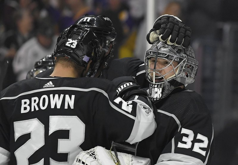 Jonathan Quick, Dustin Brown