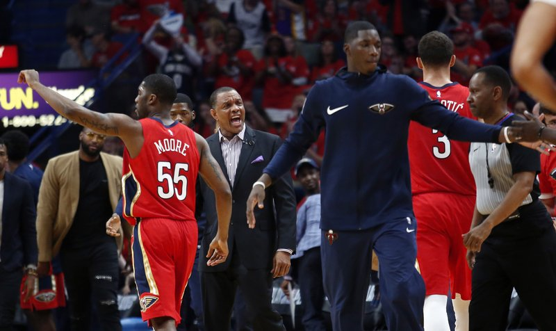 Ap Source Pelicans Pick Up Gentry S Option For Next Season