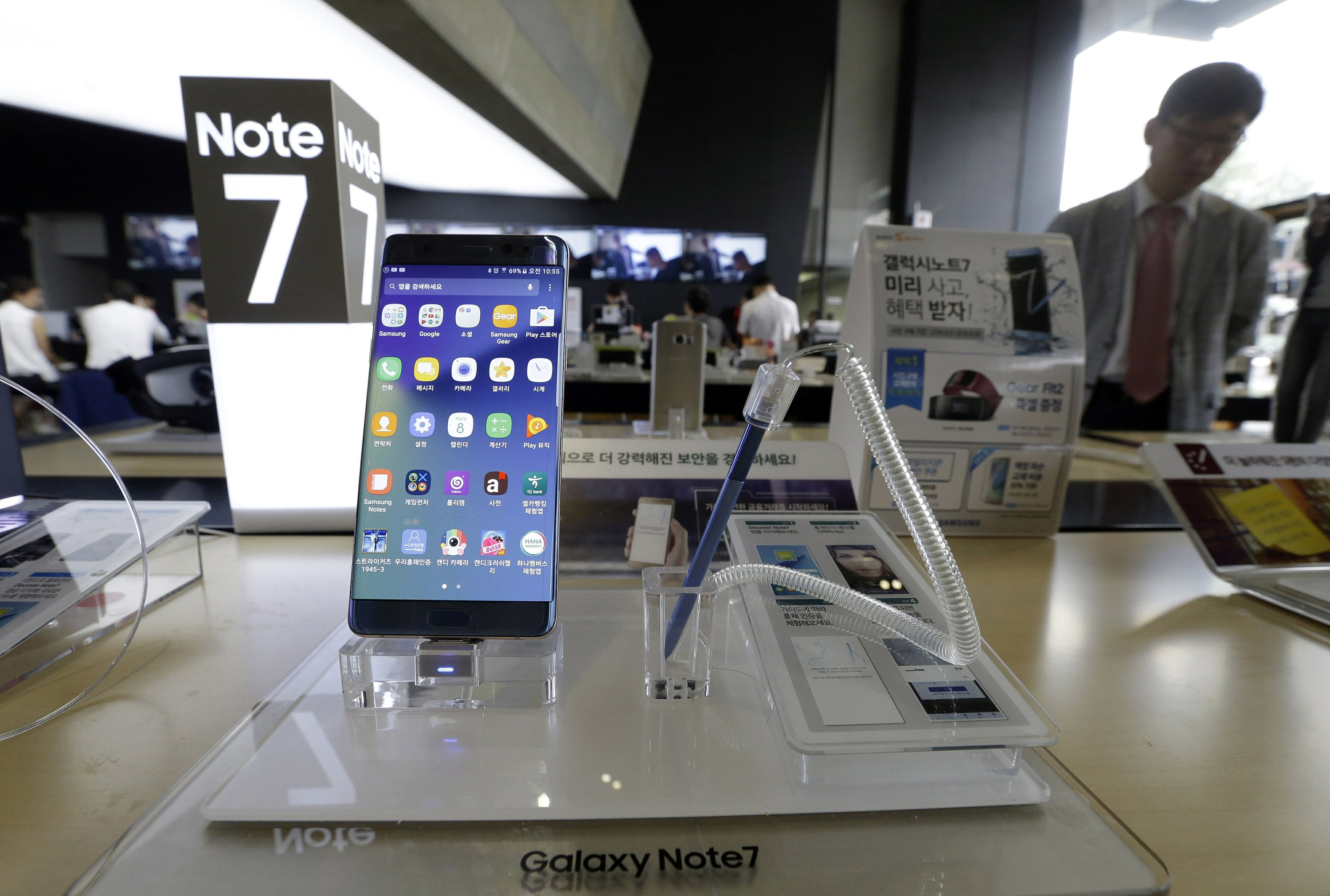 Galaxy Note 7 recall shows challenges of stronger batteries