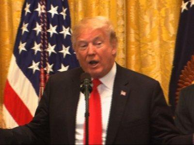 Trump Touts Tax Cuts During Successful Week