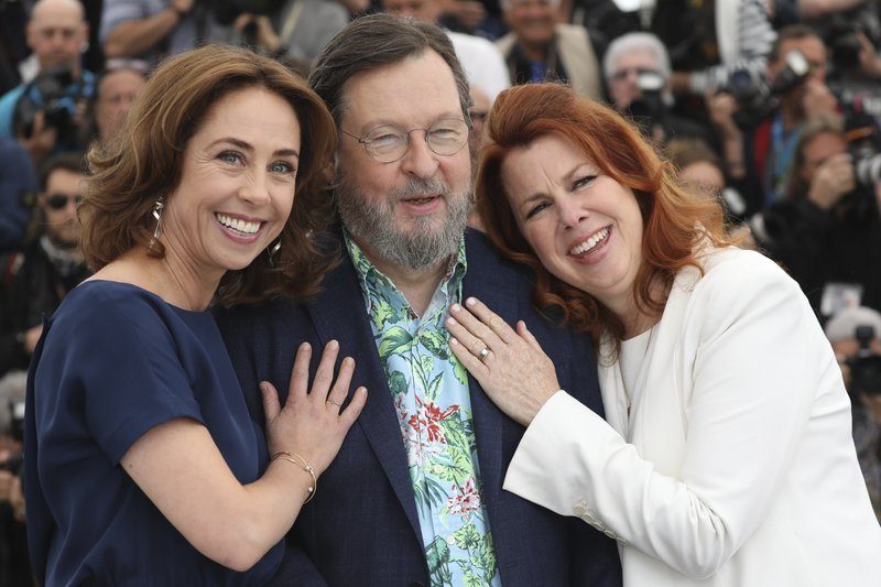 Sofie Grabol, Lars von Trier, Siobhan Fallon Hogan