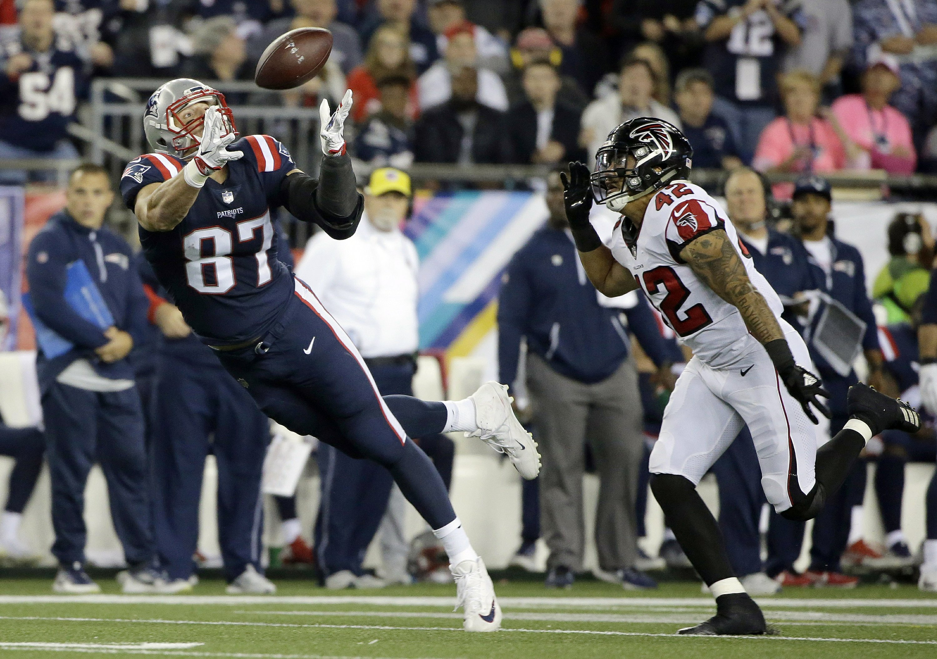 Tight End Becoming Focal Point Of Nfl Offenses