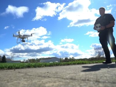 Drones Become Crime-Fighting Tool With Limits