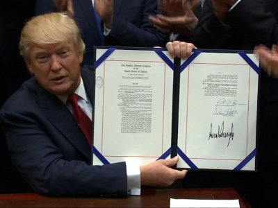 Trumps Signs Bill Extending VA Care