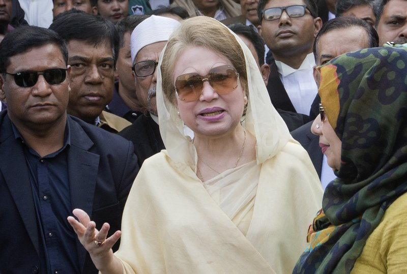 Bangladesh's ex-PM transferred from prison to hospital