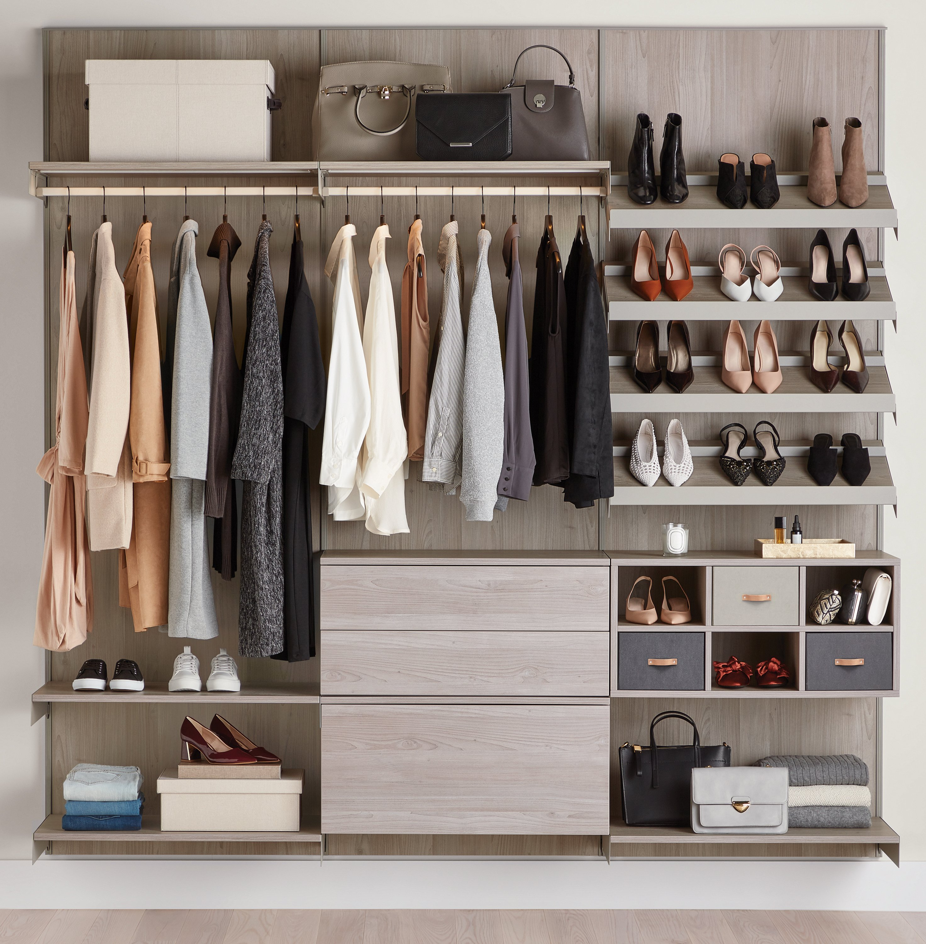 The Container Store To Introduce A Full Custom Closet Suite
