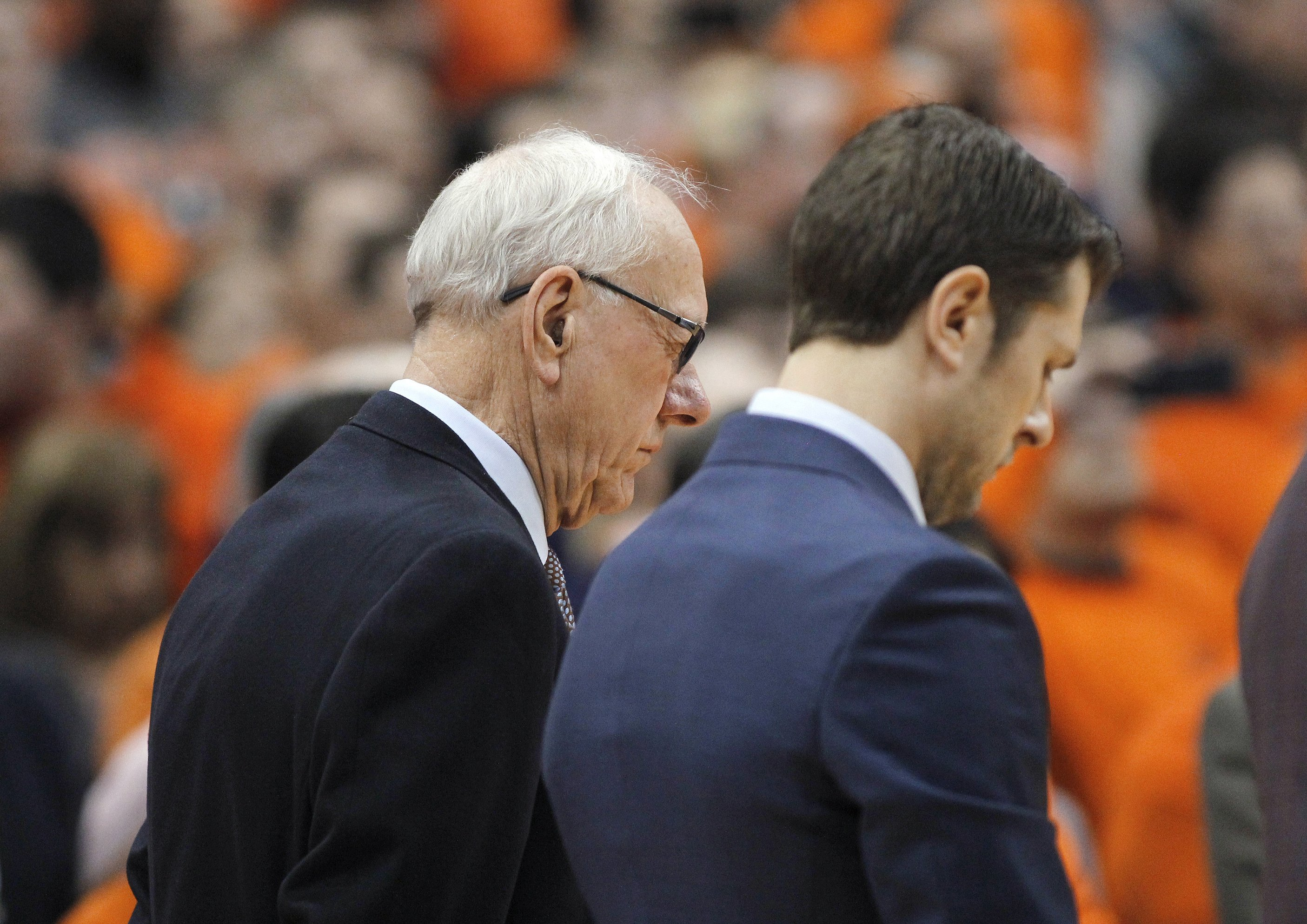 Syracuse Coach Boeheim Trying To Cope With Tragic Accident