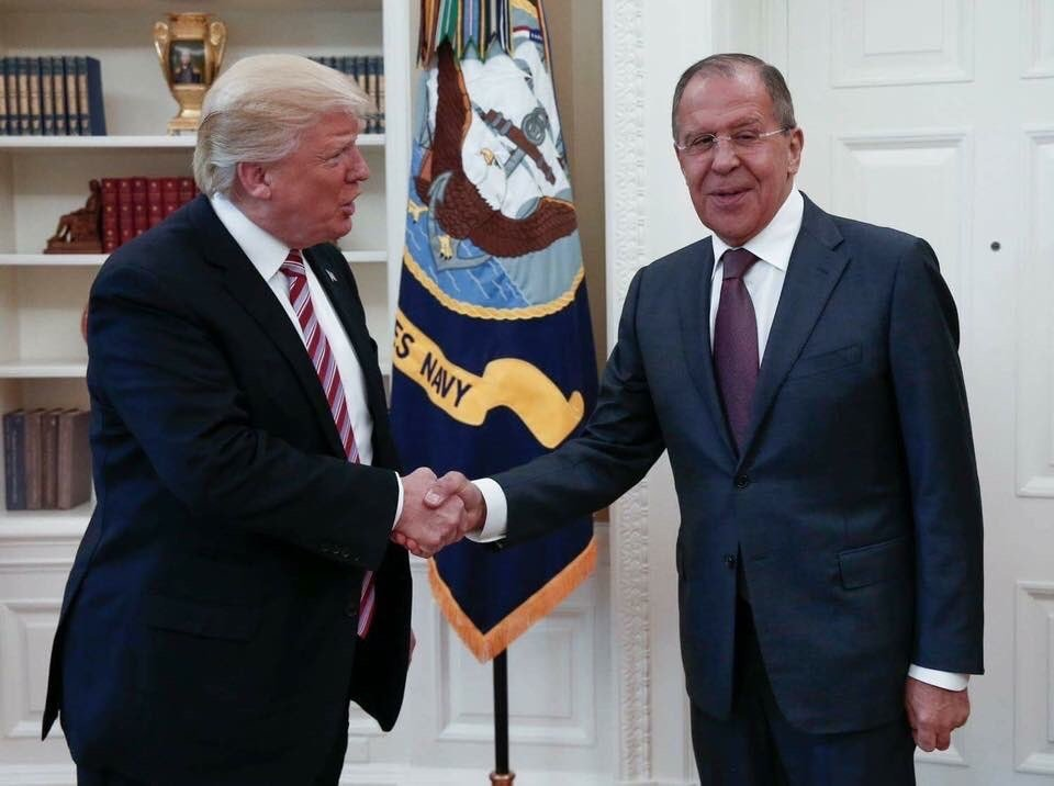 Donald Trump, Sergey Lavrov
