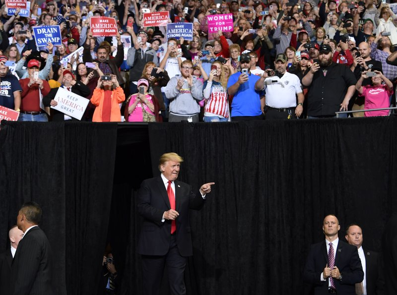 Trump Mockingly Invokes 'The Rules of #MeToo' at PA Rally