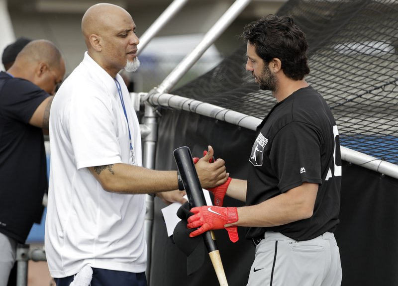 Tony Clark, Chris Colabello
