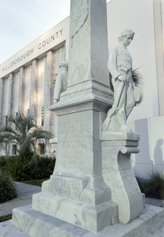 Confererate Statue, Hillsborough County Commission