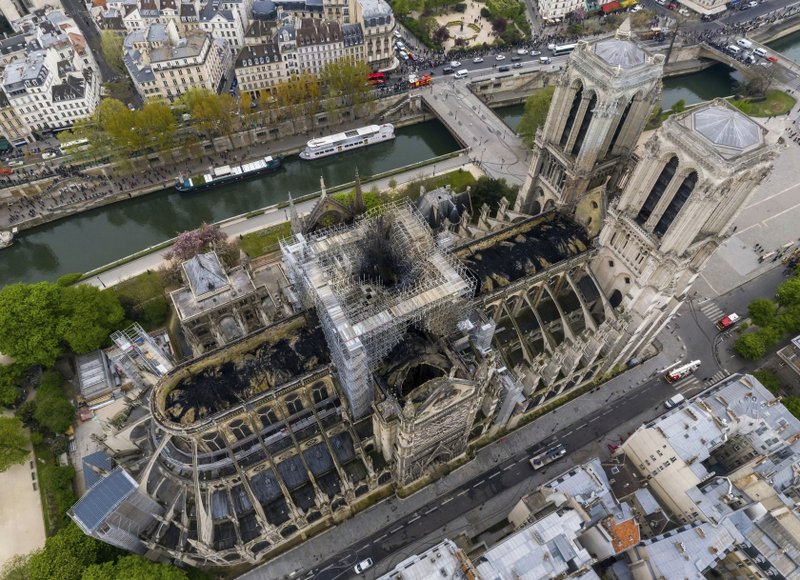 da77f0dd Bells of French cathedrals ring in tribute to Notre Dame