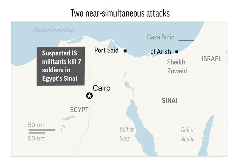 Militants rob bank, attack church in Egypt's Sinai