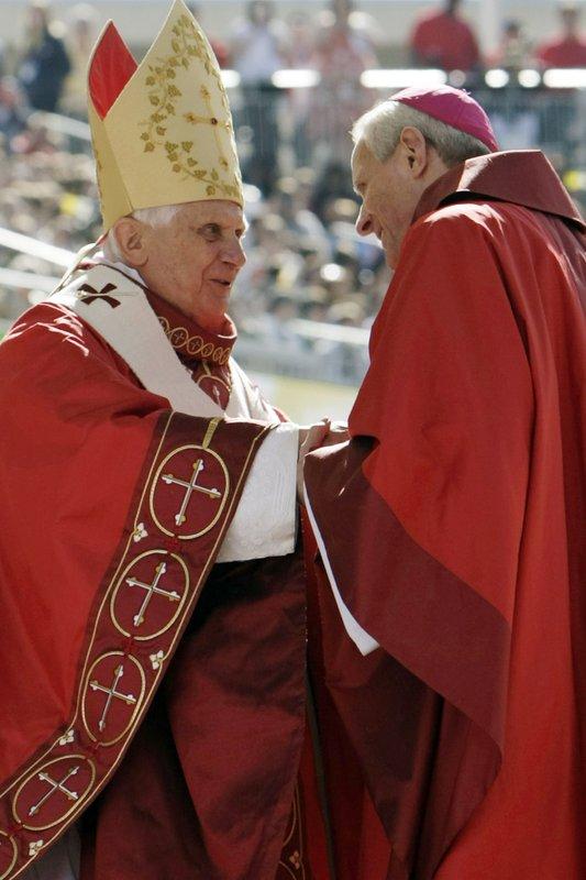 Pope Benedict XVI, Donald Wuerl