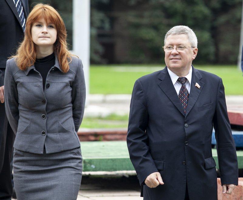 Maria Butina, Alexander Torshin