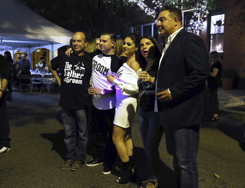 Stephanie Longo, Paolo DiPaolo, Louie DiPaolo, Lilianna DiPaolo,