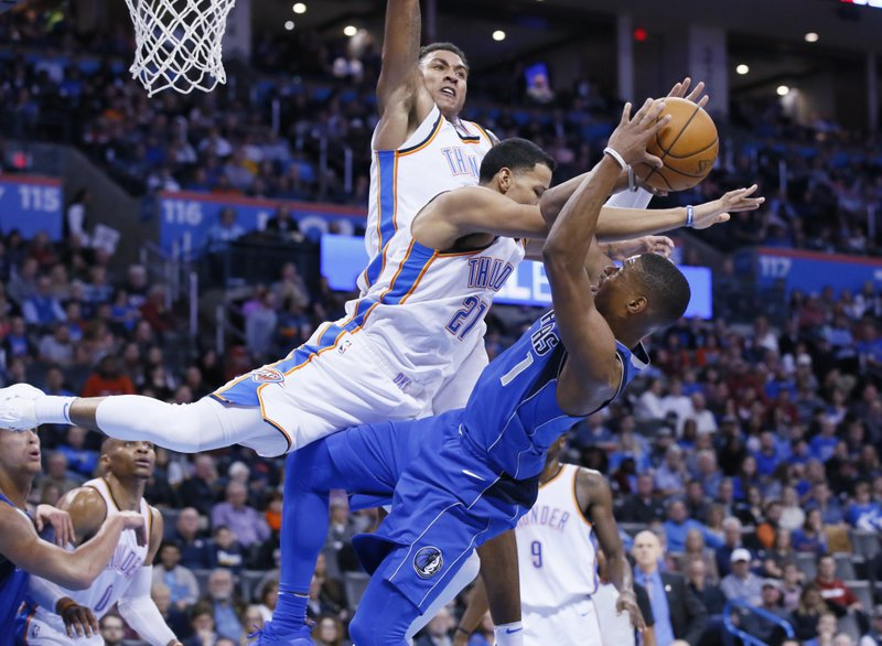 Andre Roberson, Dennis Smith Jr.