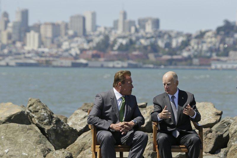 Jerry Brown,Arnold Schwarzenegger