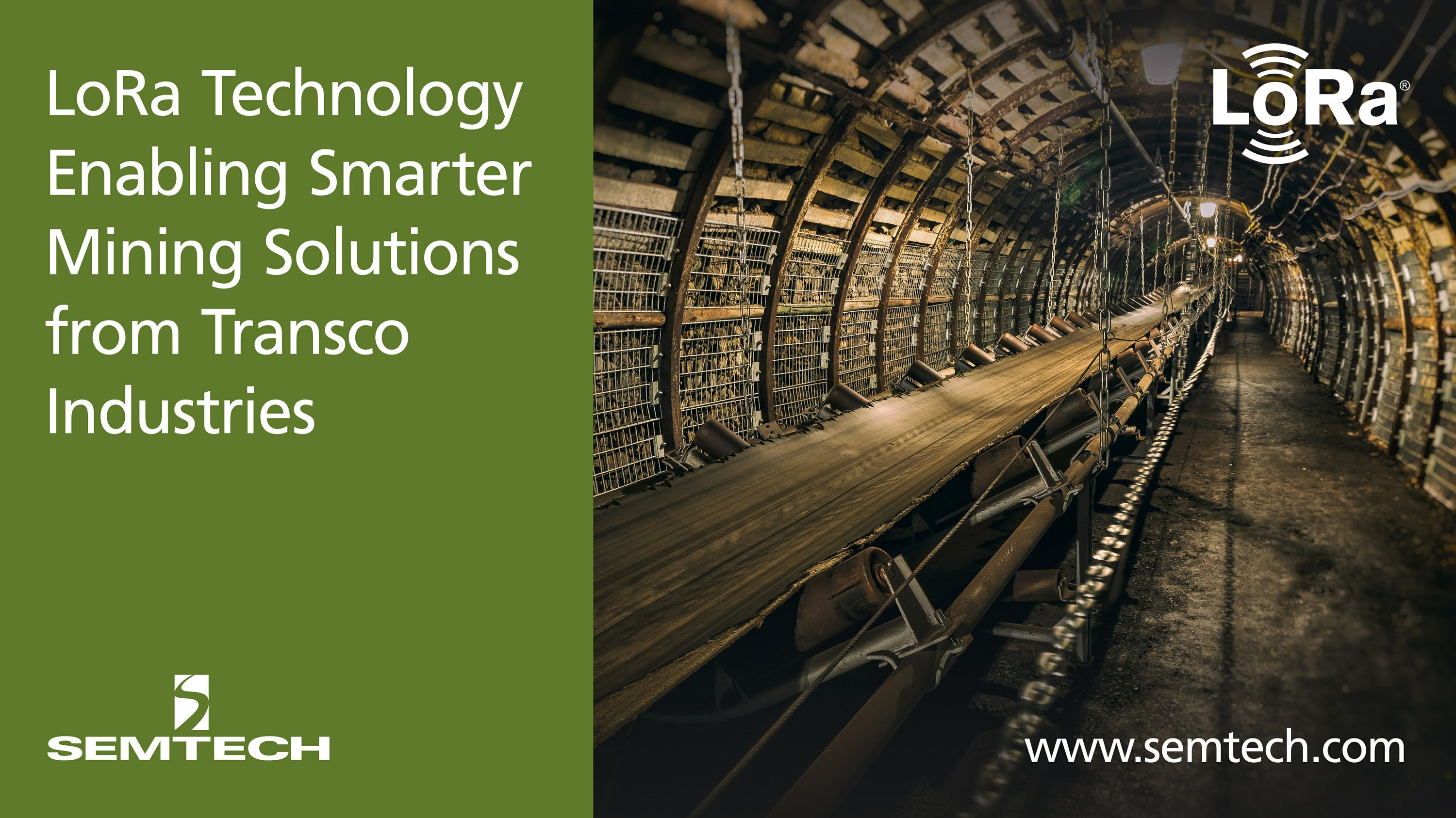 Semtech's LoRa Technology Enabling Smarter Mining Solutions from Transco Industries Inc.