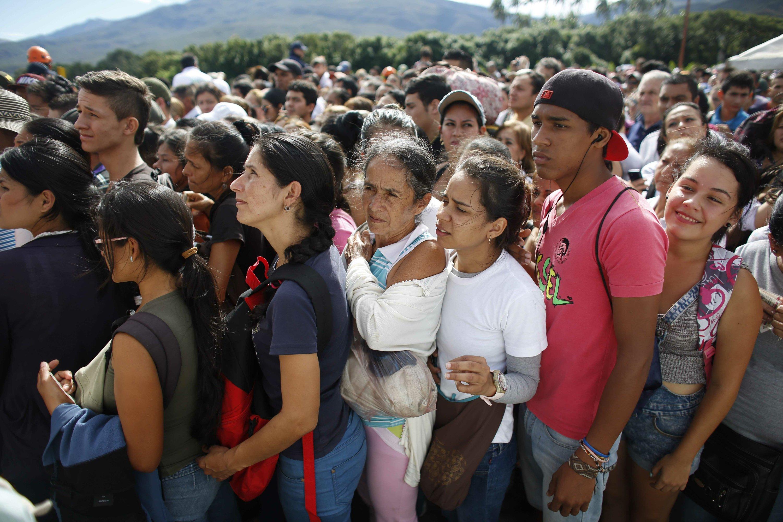 UN says an estimated 2.3 million people have fled Venezuela