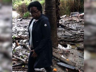 Mudslide Reaches Oprah's Backyard