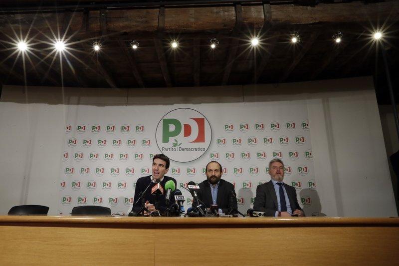 Maurizio Martina, Matteo Orfini, Lorenzo Guerini