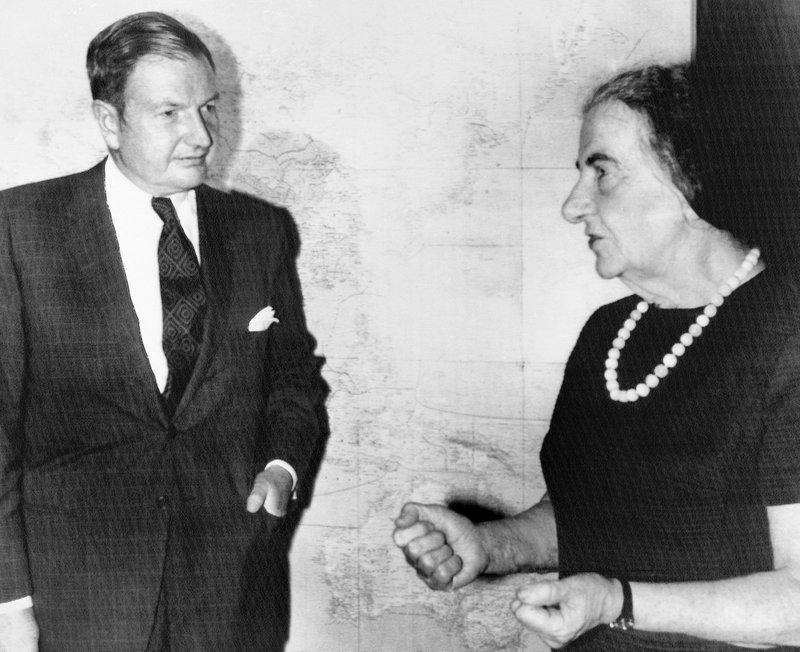 David Rockefeller, Golda Meir