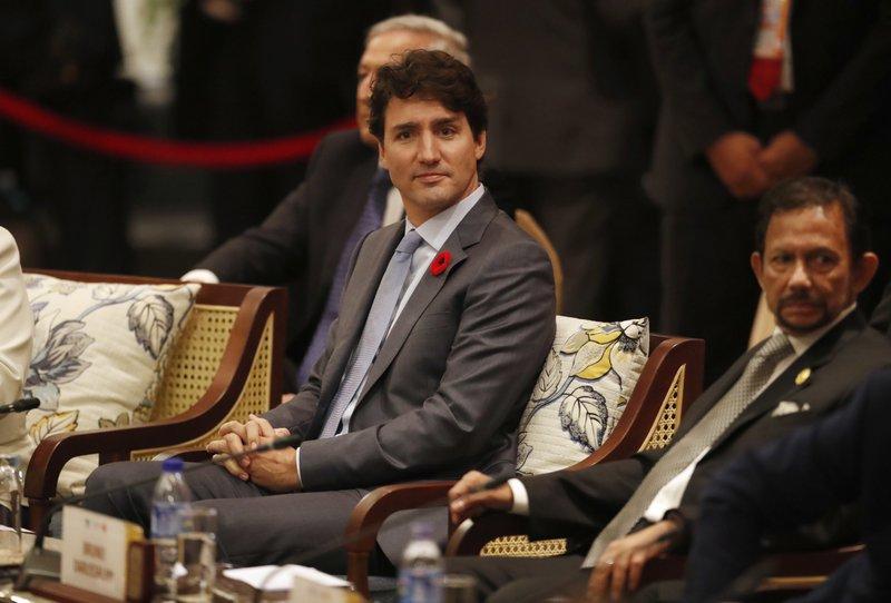 Justin Trudeau, Hassanal Bolkiah