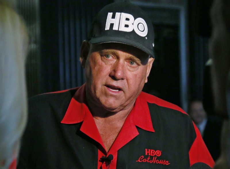 Nevada legal pimp, candidate, star of HBO series found dead