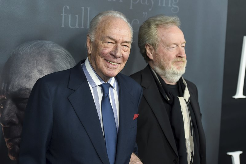 Christopher Plummer, Ridley Scott